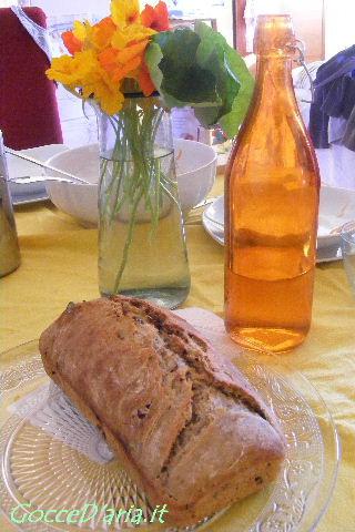 Banana-bread con pasta madre