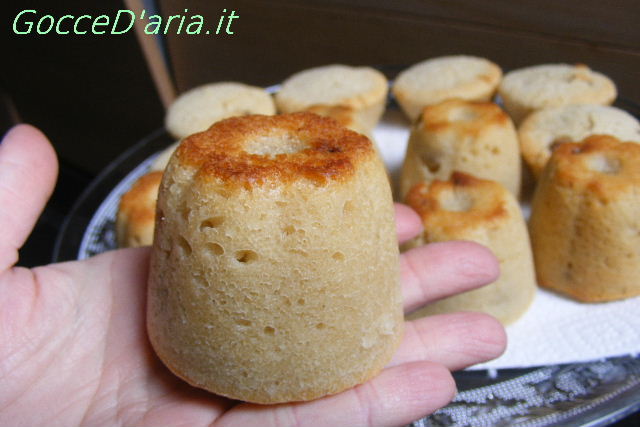 Bocconcini dolci senza glutine con Bianca (lievitazione naturale)