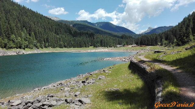 Lago di Paneveggio e percorso naturalistico