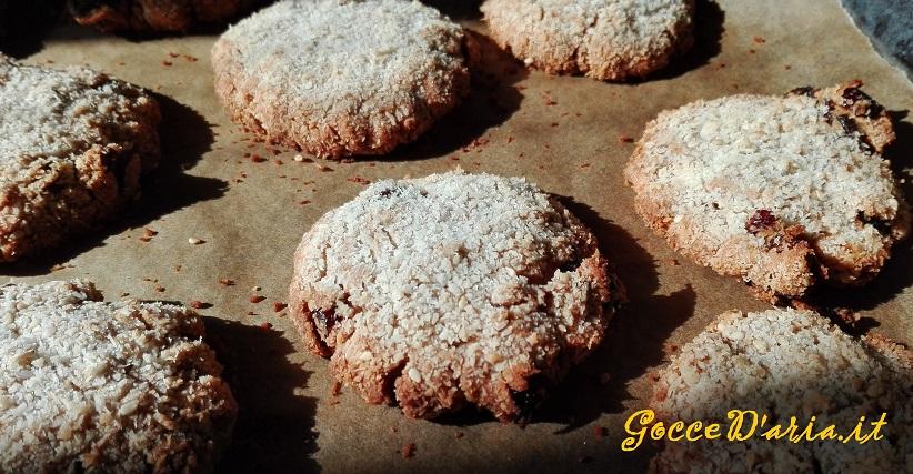 Cookies ai fiocchi di avena senza zucchero (in doppia versione, con e senza glutine)