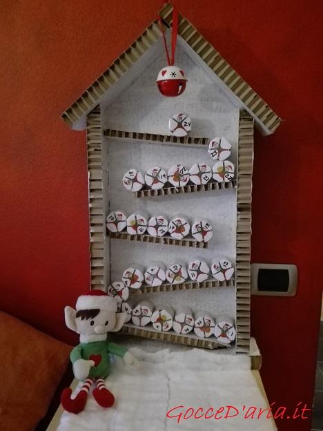 Benvenuto dicembre col calendario dell'avvento elfico!