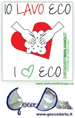 Io lavo eco, I love eco - il contest per il 2° compleanno di GocceD'aria