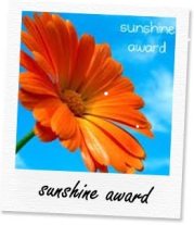 Sunshine award... un premio