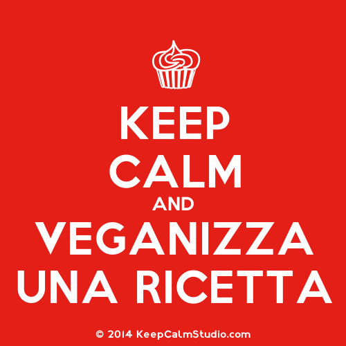 KeepCalmStudio.com-Cupcake-Keep-Calm-And-Veganizza-Una-Ricetta